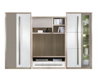 Biblioteca Roma + Comoda - Mobila Living 300 x 194 x 53 cm
