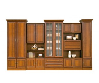 Biblioteca Wiki C - Mobila Living - Sufragerie 368 x 214 x 56 cm