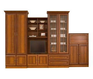 Biblioteca Wiki D - Mobila Living 324 x 214 x 56 cm