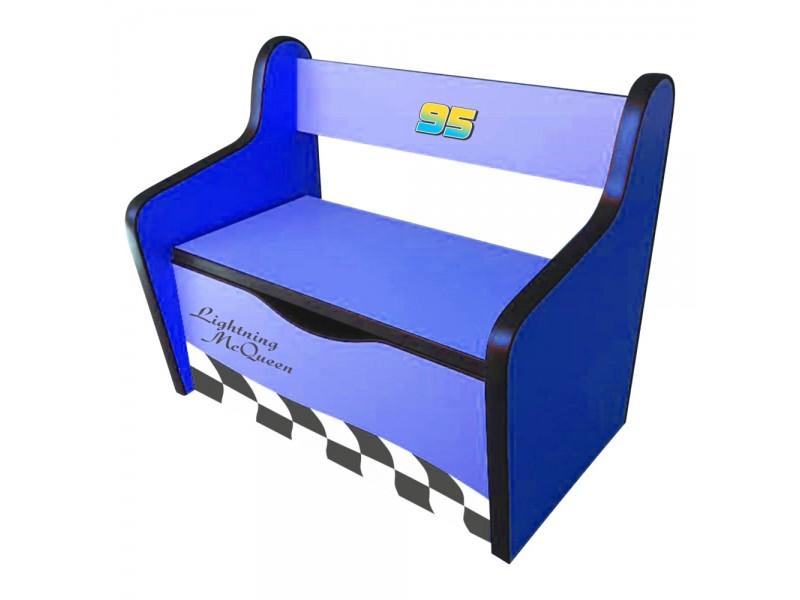 Bancuta Copii Fulger 3D Blue
