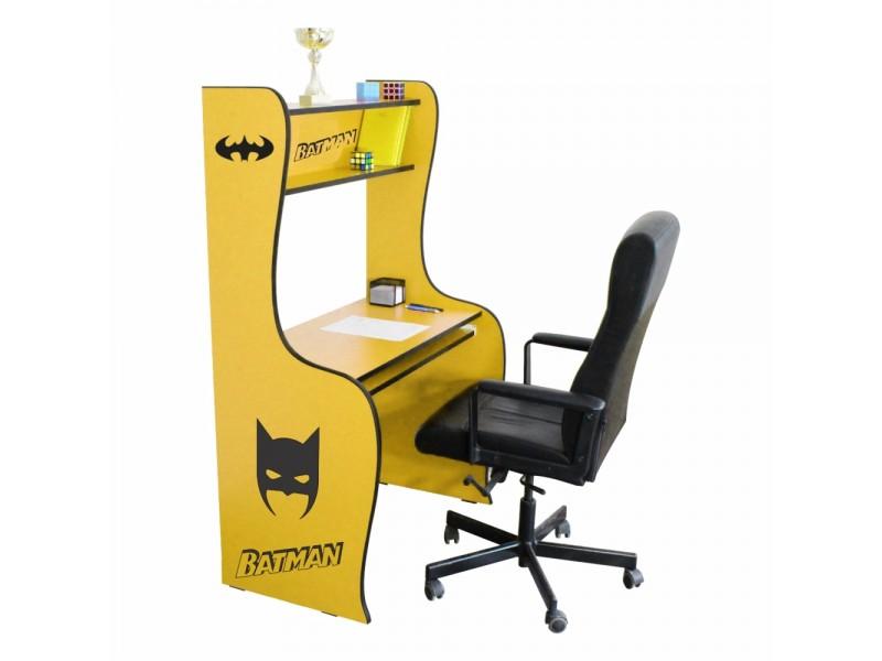 Birou Copii Bat Man cu Glisiera