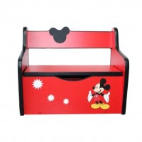 Pachet Dormitor Complet Copii Mickey Car Mare - 2-14 ani