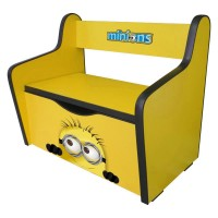 Pachet Dormitor Complet Copii Minions Mic - 2-8 ani