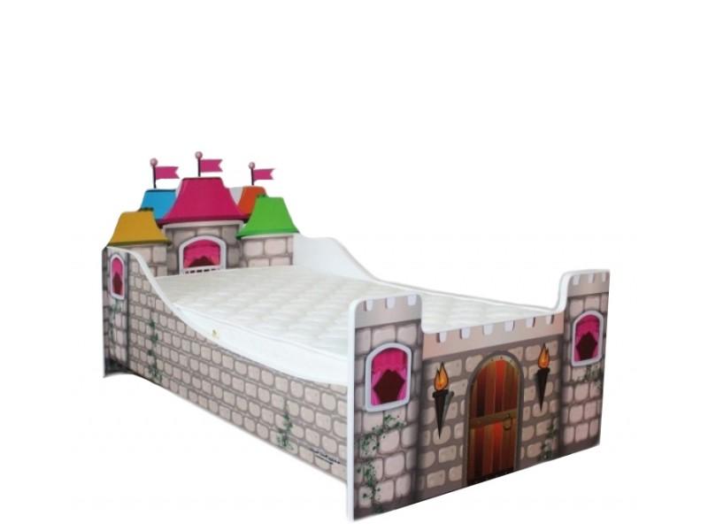 Pat Copii Castel Mare 180x90 - 2-14 ani