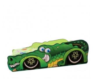 Pat Copii Crocodil Mic 140x70 - 2-8 ani