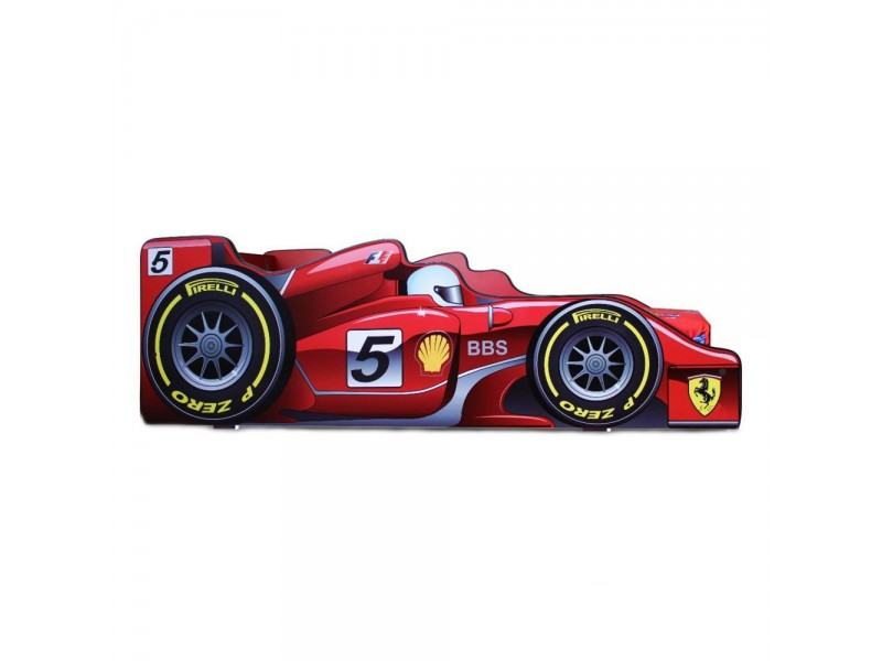 Pat Copii Formula 1 Mare 180x90 - 2-14 ani