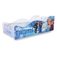 Pat Copii Frozen Mare 160x80 - 2-12 ani