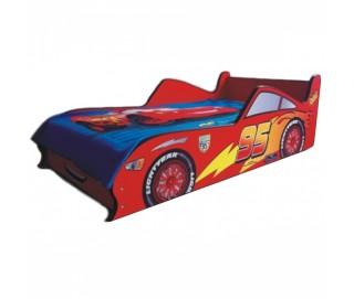 Pat Copii Fulger McQueen Mare 160x80 - 2-12 ani