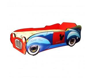 Pat Copii Mickey Car Mare 160x80 - 2-12 ani