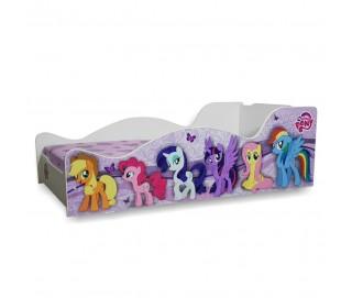 Pat Copii Ponny Mare 160x80 - 2-12 ani