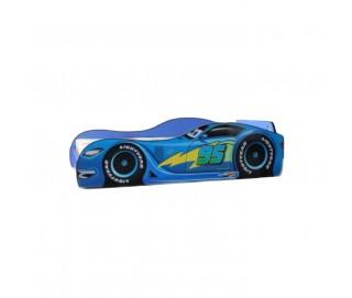 Pat Copii Speed Blue Mare 180x90 - 2-14 ani
