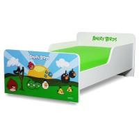 Pat copii Start Angry Birds - Mic 140x70cm - 2-8 ani