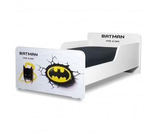 Pat copii Start Batman - Mic 140x70cm - 2-8 ani