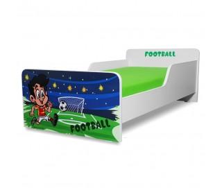 Pat copii Start Fotbal - Mic 140x70cm - 2-8 ani