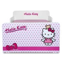 Pat copii Start Hello Kitty - Mic 140x70cm - 2-8 ani
