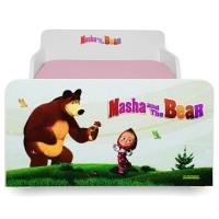 Pat copii Start Masha - Mic 140x70cm - 2-8 ani