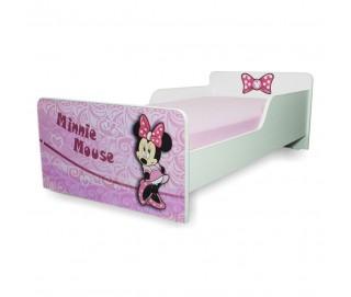 Pat copii Start Minnie - Mic 140x70cm - 2-8 ani