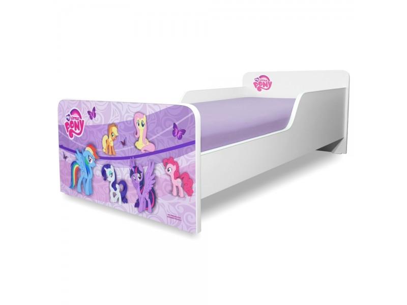 Pat copii Start Ponny - Mic 140x70cm - 2-8 ani