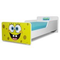 Pat copii Start Sponge Bob - Mare 160x80cm - 2-12 ani
