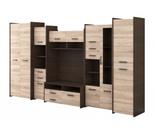 Biblioteca Mirabela / Mokka 2 - Mobila Living 360 x 200 x 53 cm