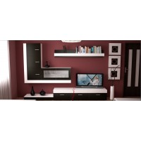 Biblioteca Ankona - Mobila Living - 280x200x42 cm