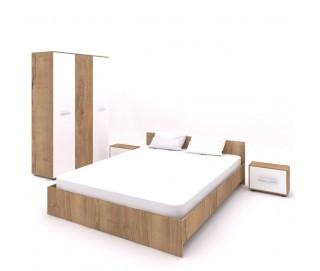 Set Dormitor Complet Hera 2 - Sifonier + Pat + Noptiere